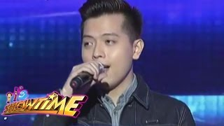 "Jason Dy sings ""I"
