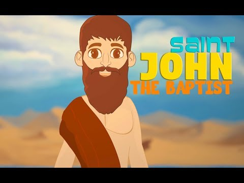 St John The Baptist | English | Story of Saints For Kids