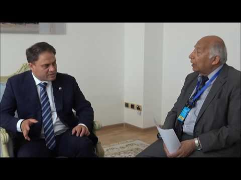 Kazakh Deputy Foreign Minister Roman Vassilenko talks about the legacies of EXPO 2017 Astana