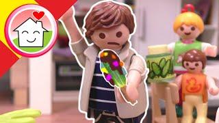 Playmobil en español La broma de la tarta a papá - Familia Hauser