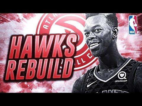 THREE 1st Round Draft Picks! Rebuilding The Atlanta Hawks! NBA 2K18 My League