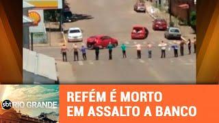 Seis assaltantes morrem após assalto a banco em Ibiraiaras - SBT Rio Grande - 04/12/18