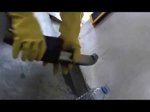How to clean titanium, stainless steel and steel exhaust pipe less 3 minutes magic method