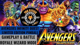 Avengers Infinity Quest Limited Edition by Stern Pinball