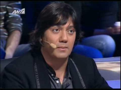 X Factor 2008 - Live show E08 - Nikolas Metaxas - Living in world without you