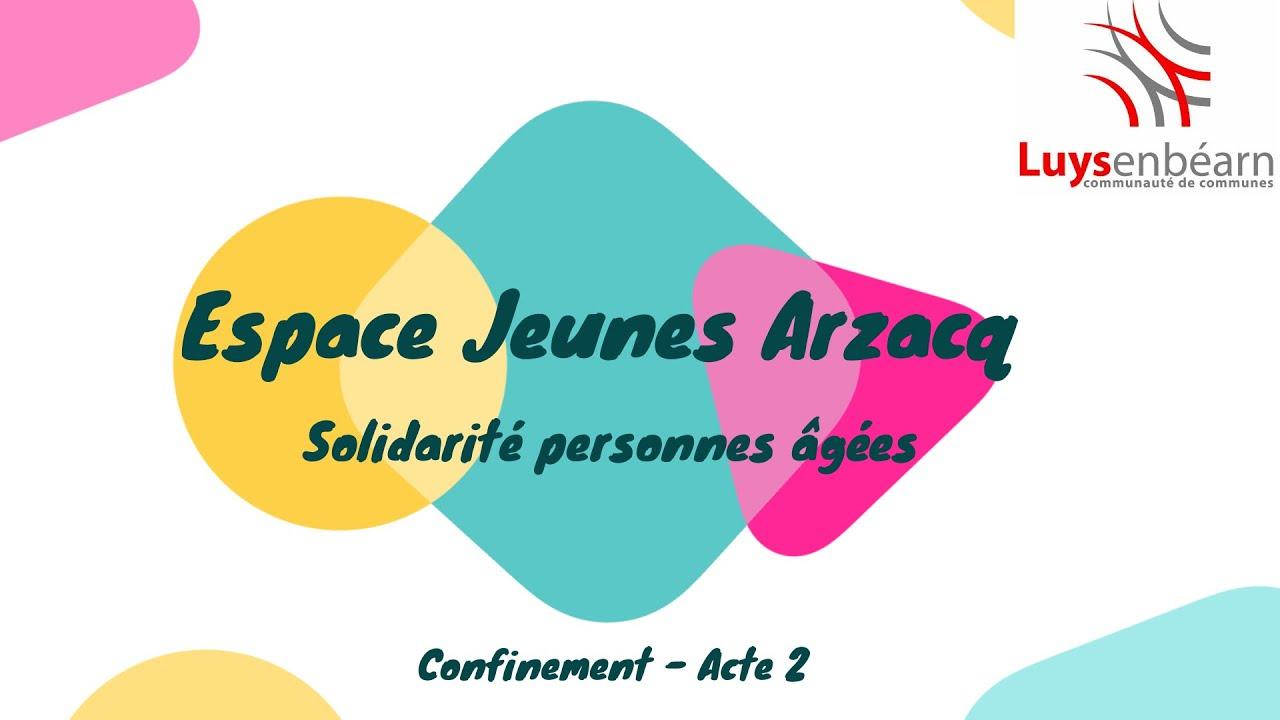 Vidéo solidaire réalisée par l'Espace Jeunes à Arzacq