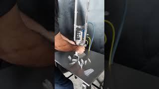 Grampeadeira Dupla Poly-clip Pneumática
