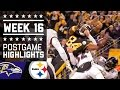 #2 Ravens Vs. Steelers | Nfl Week 16 Christmas Game Highlights video