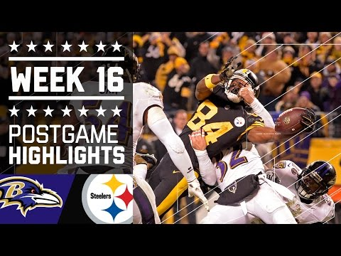 #2 Ravens vs. Steelers | NFL Week 16 Christmas Game Highlights