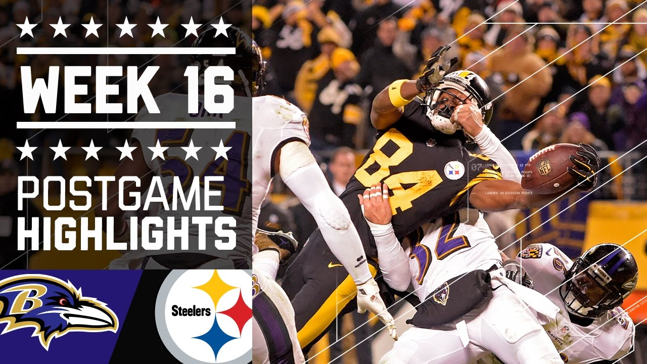 Ravens vs. Steelers | NFL Week 16 Christmas Game Highlights - YouTube