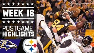 Ravens vs. Steelers | NFL Week 16 Christmas Game Highlights