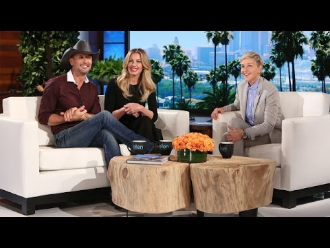 Tim McGraw & Faith Hill's Exclusive Sit-Down!