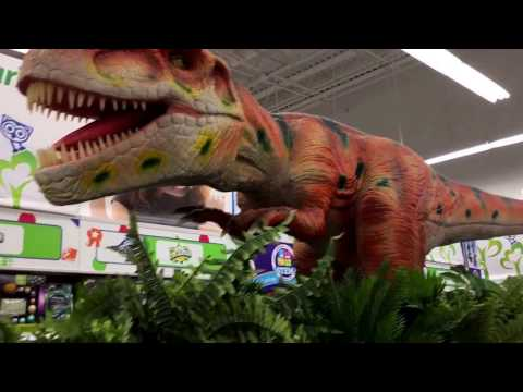 "The coolest dinosaur you ever seen from Toys ""R"" Us store in citrus Park mall Tampa Florida"