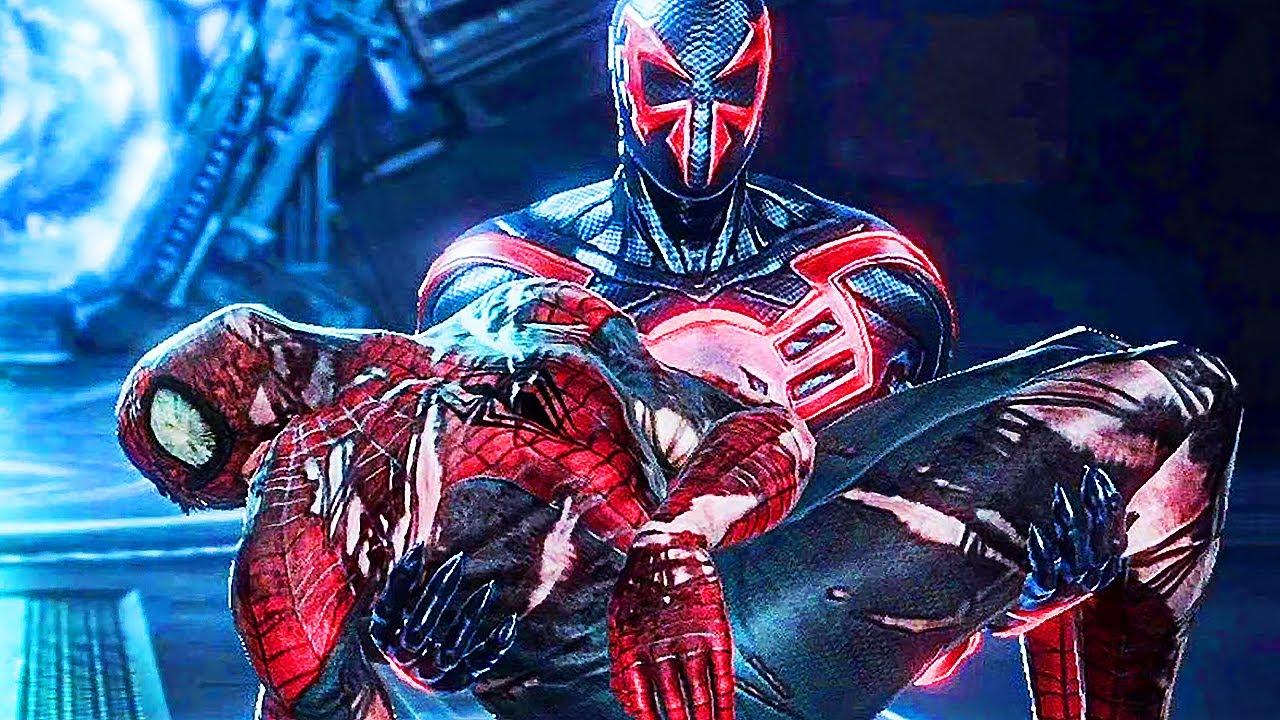spiderman edge of time movie all cutscenes youtube