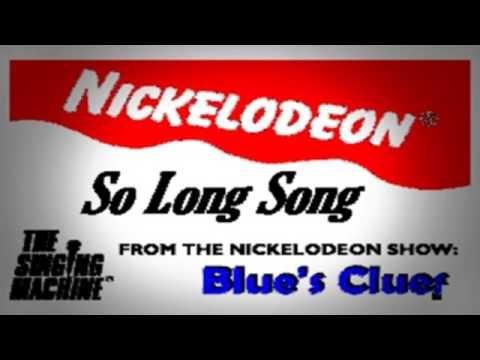 Blue's Clues So Long Song SM Karaoke