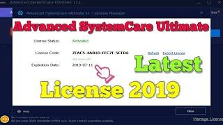 Serial para advanced systemcare 11