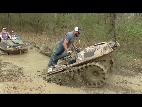 Argo 6x6 Rides the Tidal Wave Mud Nationals 2018 Mp3