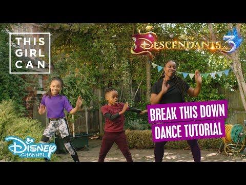 Descendants 3 | 'Break This Down' Dance Tutorial