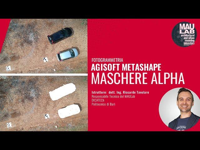 Creare Maschere Alpha per Metashape con Photoshop