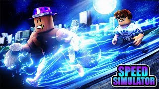 Roblox | When The Robots Run Faster Than Superman | Speed Simulator 2 | MinhMama