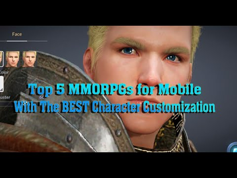 Top Five MMORPGs For Mobile With Best Character Customization
