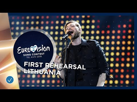 Lithuania 🇱🇹 - Jurij Veklenko - Run With The Lions - First Rehearsal - Eurovision 2019