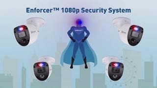 Swann 2MP SWDVK-446804SL Enforcer 4ch 1TB & 4 x 1080SL Camera video