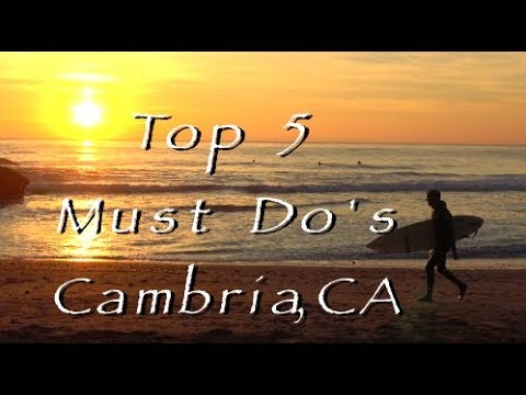 Cambria Top 5 Must Do's, HD Video