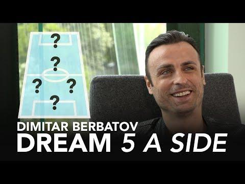 Is Scholes Man Utd's greatest midfielder? | Dimitar Berbatov's Ultimate 5-A-Side ⚽