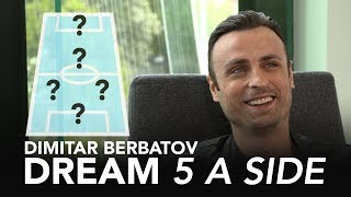 Is Scholes Man Utd's greatest midfielder? | Dimitar Berbatov's Ultimate 5-A-Side ⚽
