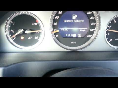 Mercedes Benz C350 (W204) temperature gauge