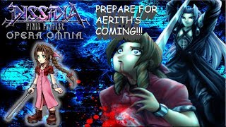 Dissidia Final Fantasy: Opera Omnia AERITH IS COMING!! DETAILS, TIPS, & GAMEPLAY!!
