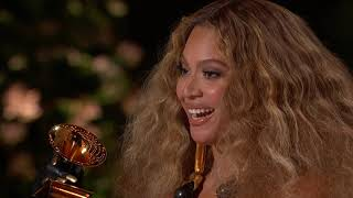 Beyoncé Wins Best R&B Performance | 2021 GRAMMY Awards Show Acceptance Speech