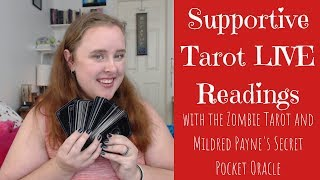 LIVE: Zombie Tarot & Mildred Payne Oracle Readings