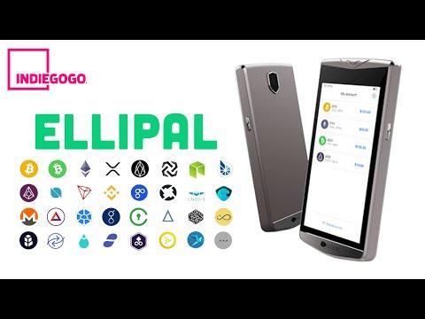 Ellipal - холодный кошелек для криптовалют. Где хранить Bitcoin, Ethereum, Ripple, Tron, Monero?