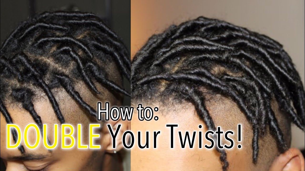 How To Divide Your Twists Separating Comb Twists Men S