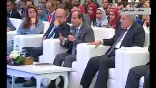 فيديو.. السيسي عن عودة الجماهير للملاعب: بعض العناصر تريد تشويه صورة مصر