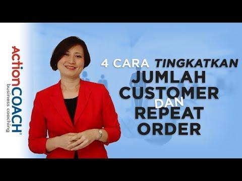 4 Cara Tingkatkan Jumlah Customer dan Repeat Order