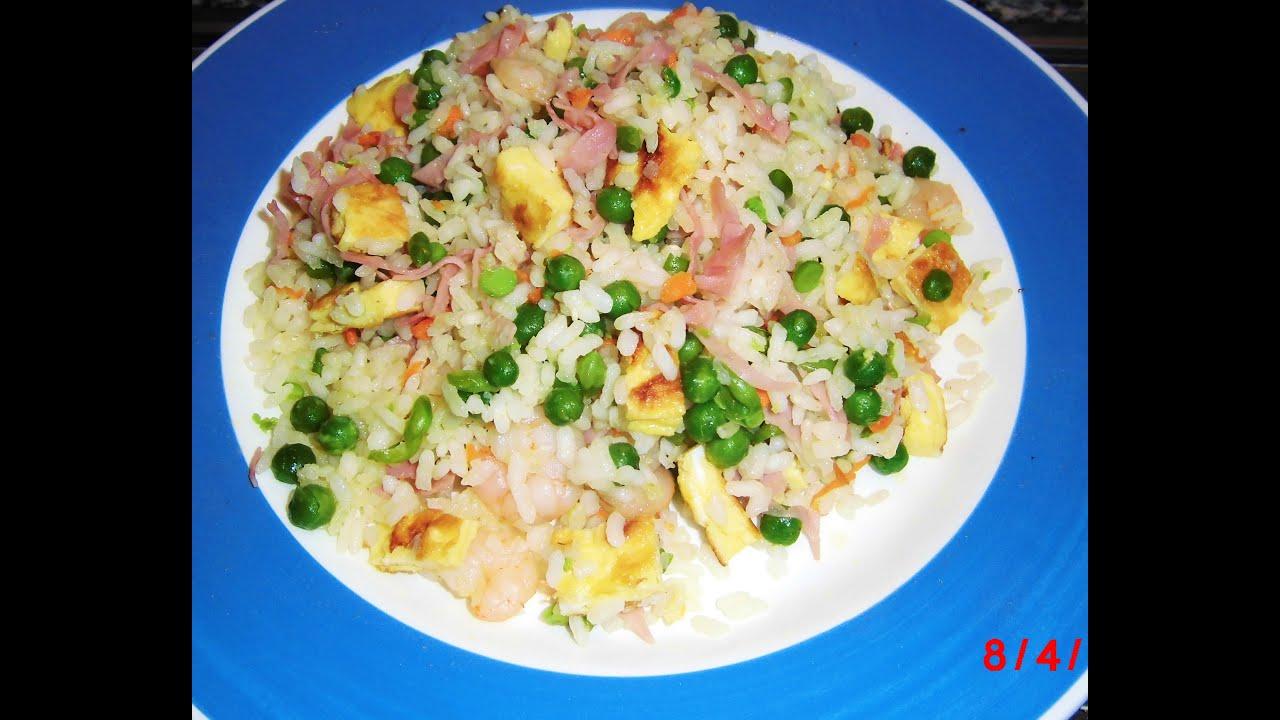 Arroz tres delicias youtube for Cocinar arroz 3 delicias