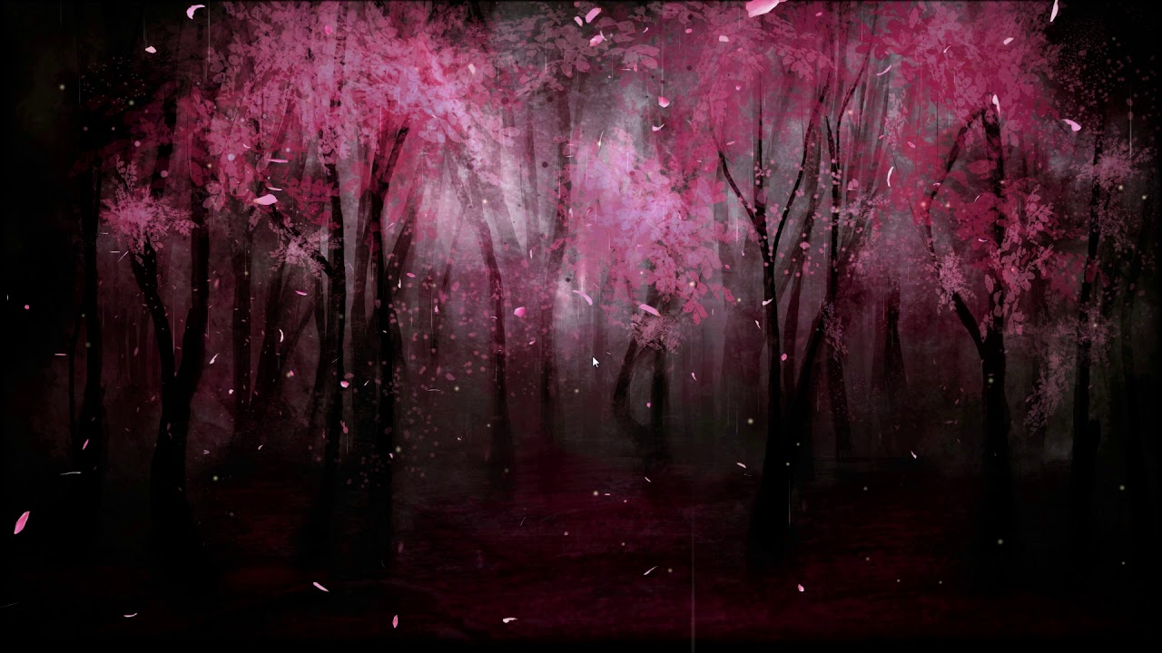 Pink Forest // Wallpaper Engine - YouTube
