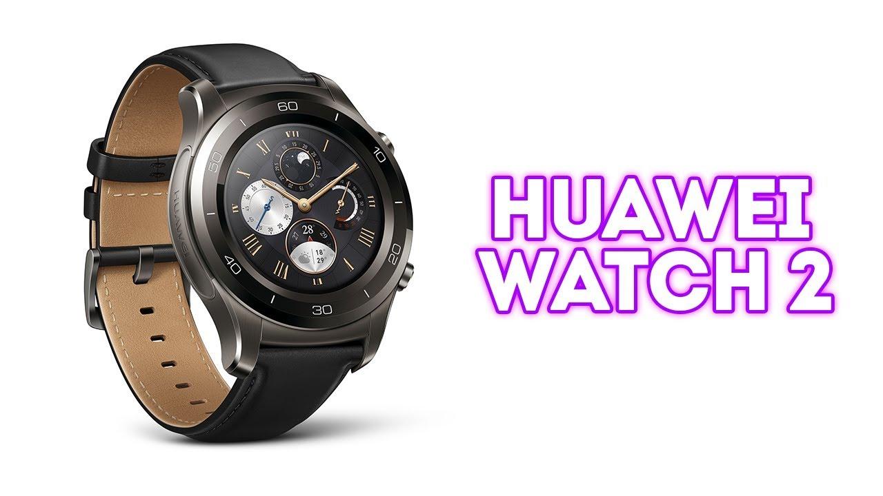 Обзор Huawei Watch - YouTube