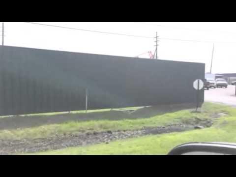 10ft Corrugated Fence