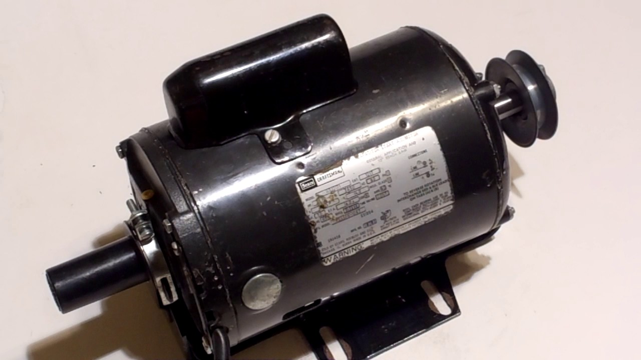 Craftsman 1hp Capacitor Start Electric Motor