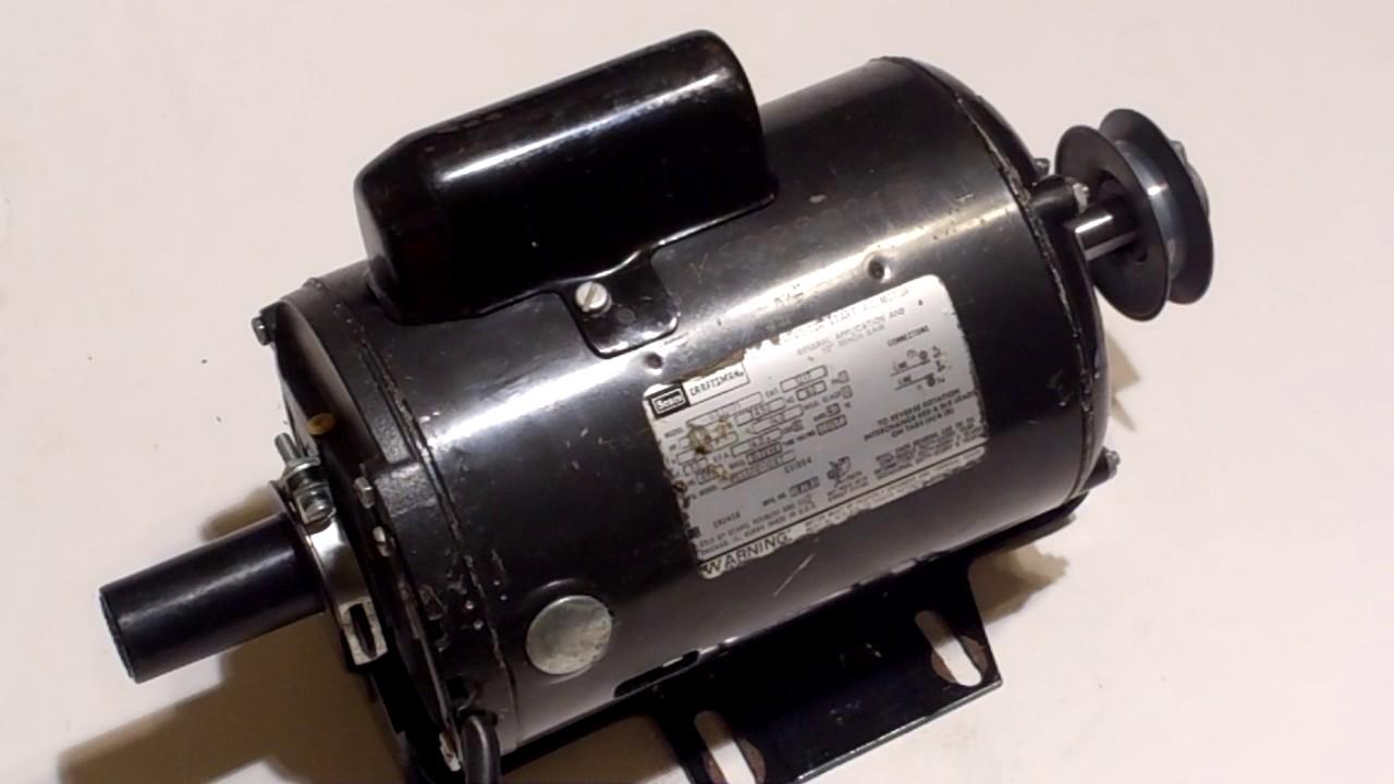 Craftsman 113 1hp Capacitor Start Electric Motor