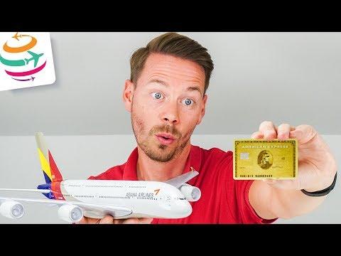 Gratis Flüge Mit Extra Meilen Durch American Express Gold Card   GlobalTraveler.TV