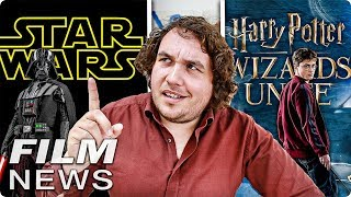 STAR WARS 10, 11 & 12 - HARRY POTTER Go - FILM NEWS