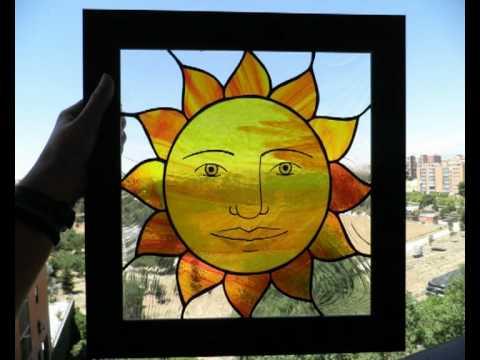 Vidriera sol zetaglass youtube - Como se hace una vidriera ...