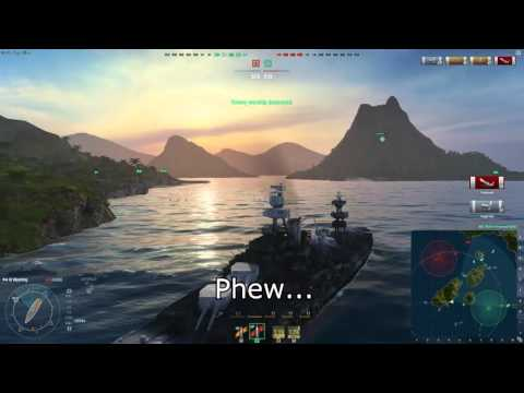 World of Warships - Wyoming Nail-Biter