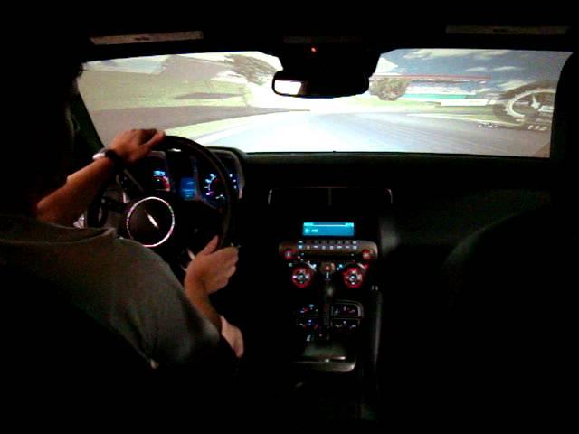 Simulador Carro Real Camaro GM Virtual Grand Prix 01