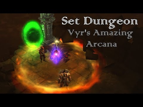 diablo 3 how to do set dungeons